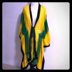 Jackets & Blazers - Jamaica Beach Coverup.  Never worn